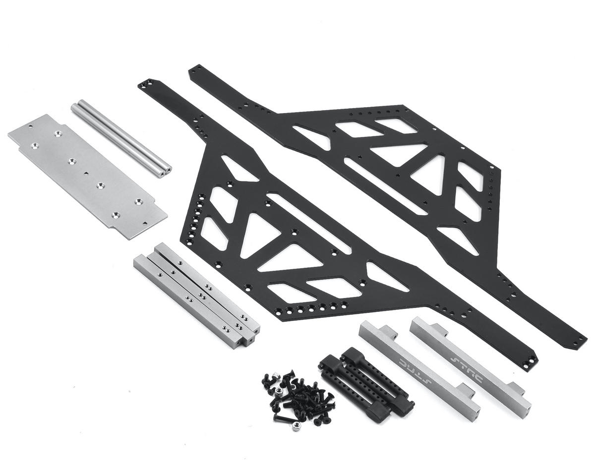 Wraith Izilla Monster Truck Conversion Kit (Black/Silver) by ST Racing Concepts