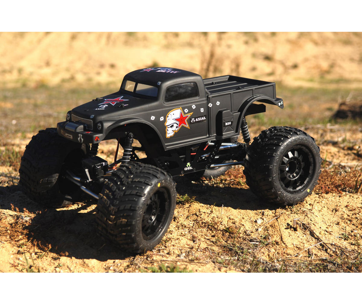 ST Racing Concepts Wraith Izilla Monster Truck Conversion Kit (Black/Silver)