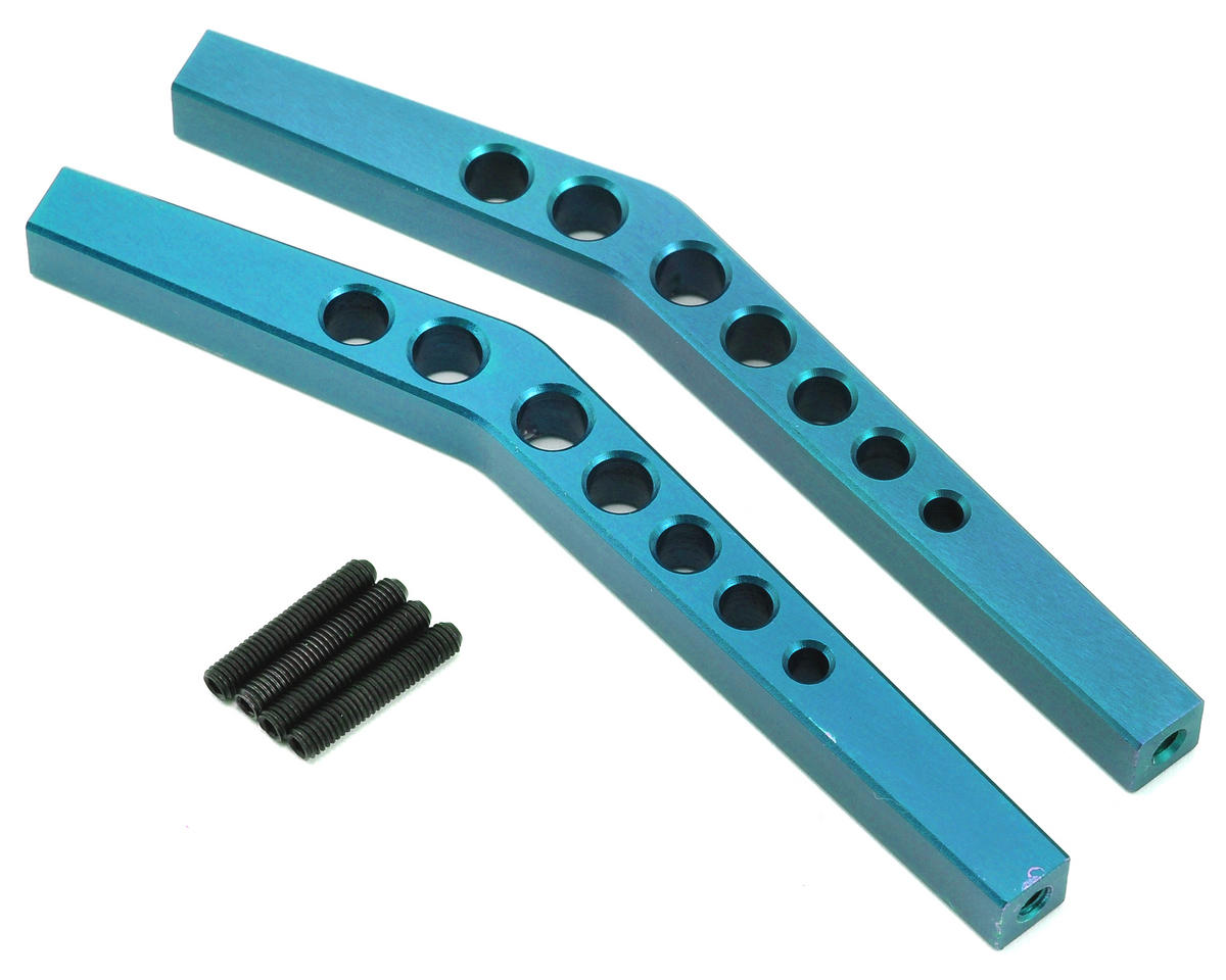 ST Racing Concepts Aluminum HD Upper Suspension Link Set (Blue) (2)