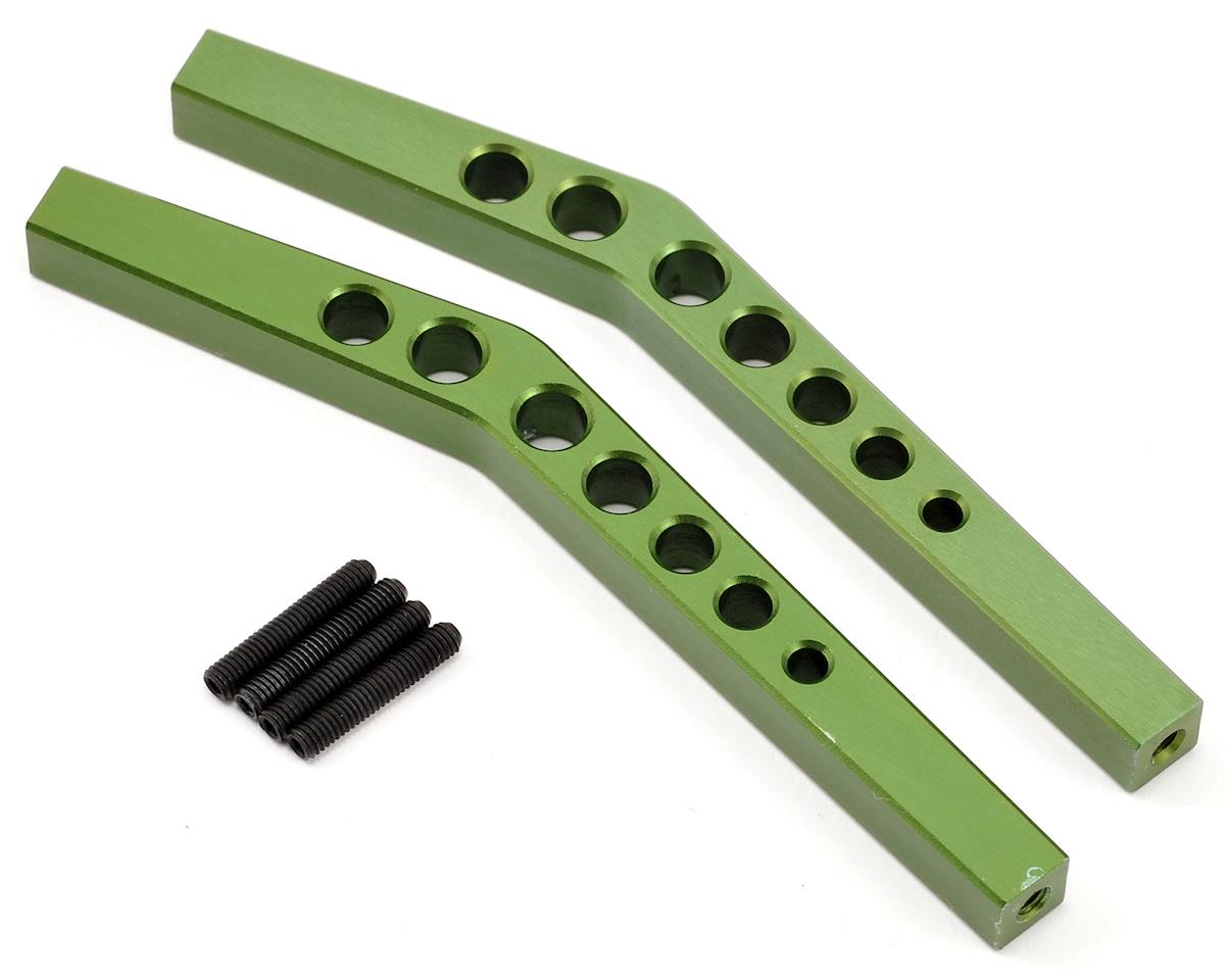 ST Racing Concepts Aluminum HD Upper Suspension Link Set (Green) (2)