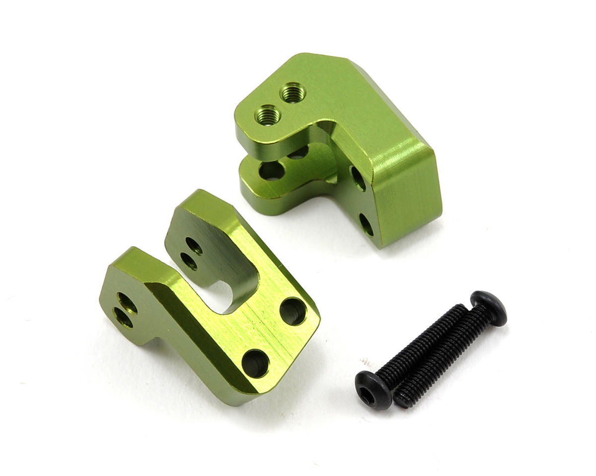 ST Racing Concepts HD Rear Lower Shock Mount Set (Green) (2)