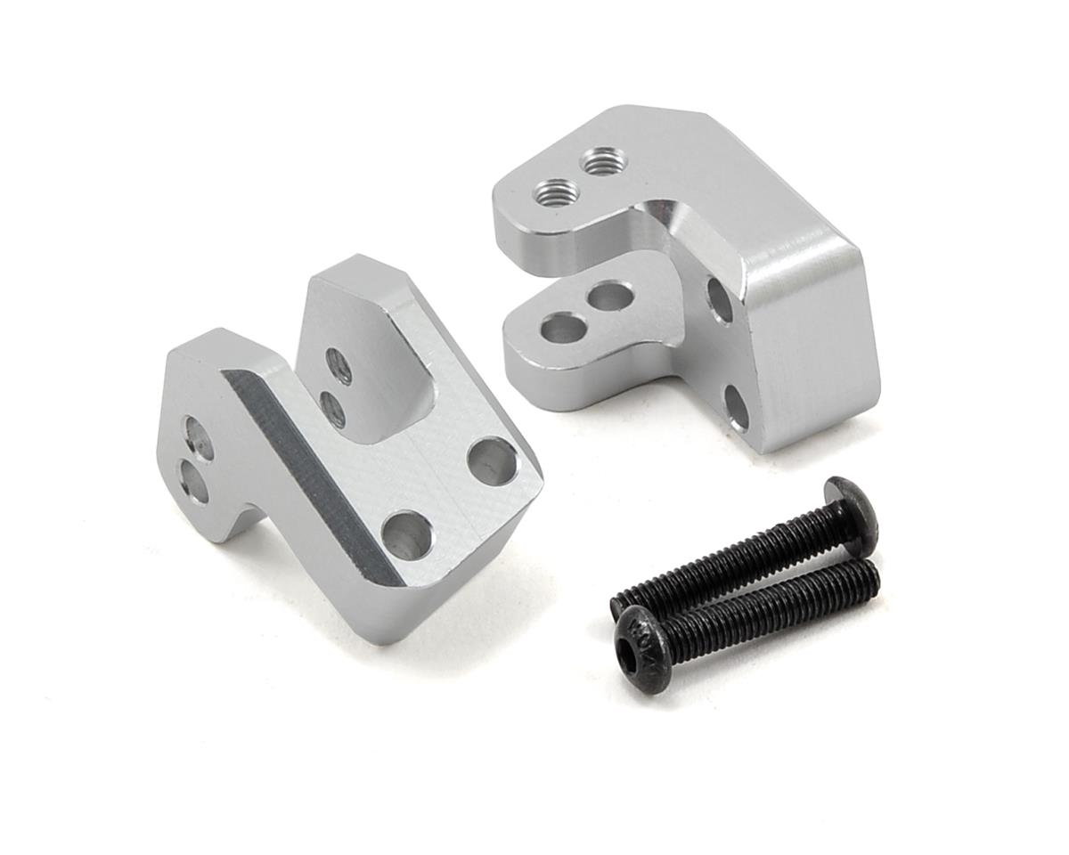 ST Racing Concepts HD Rear Lower Shock Mount Set (Silver) (2)