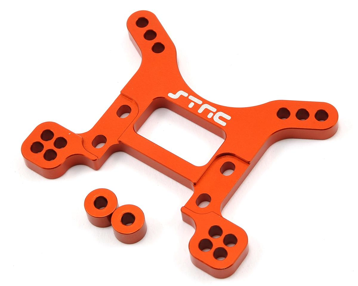 Aluminum HD Front Shock Tower (Orange) by ST Racing Concepts