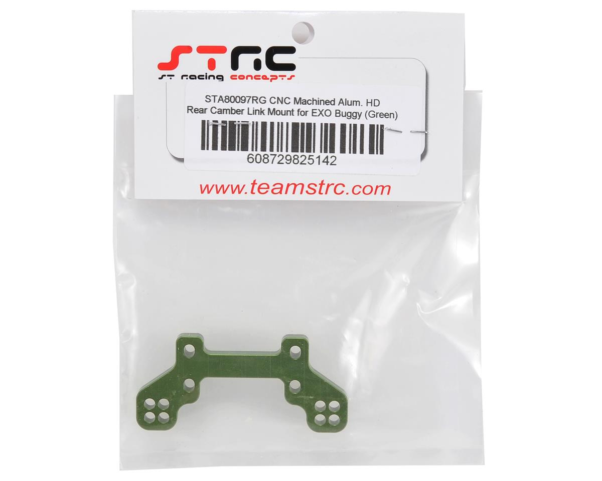 Aluminum HD Rear Camber Link Mount (Green) by ST Racing Concepts