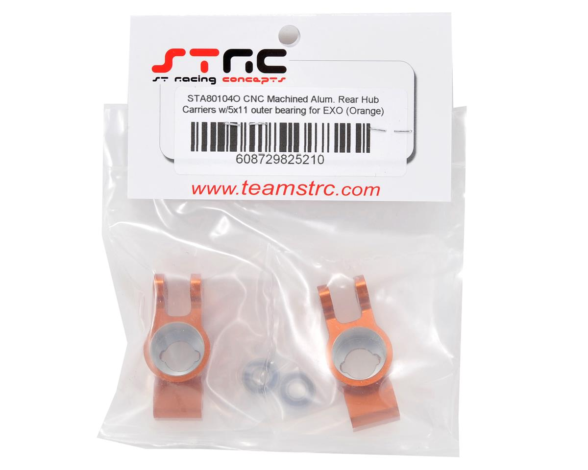 ST Racing Concepts Rear Hub Carrier Set w/Outer Bearings (Orange)