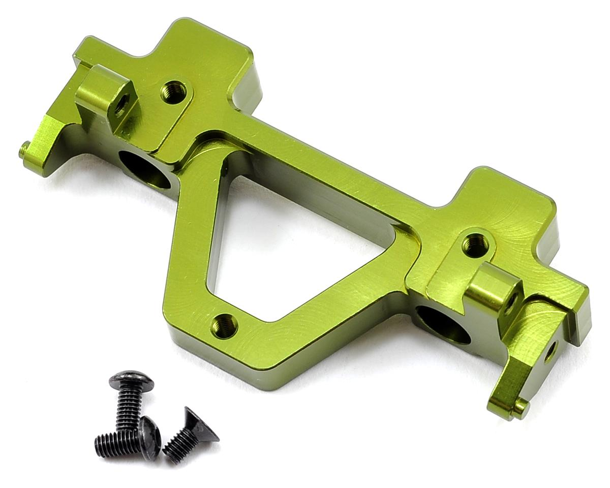 ST Racing Concepts SCX10 Aluminum Jeep Wrangler Rear Bumper Mount (Green)
