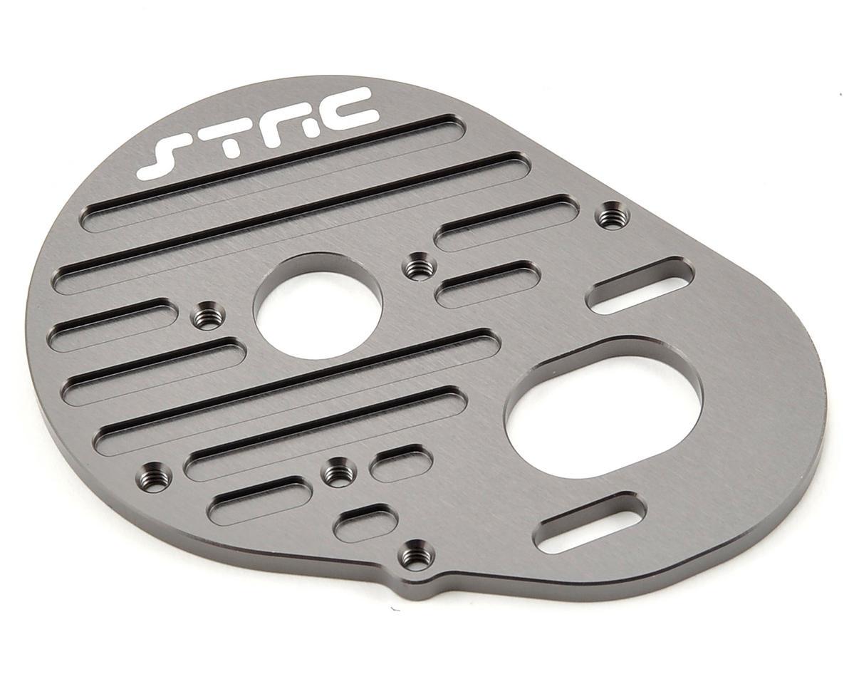 ST Racing Concepts Aluminum Heatsink Finned Motor Plate (Gun Metal)