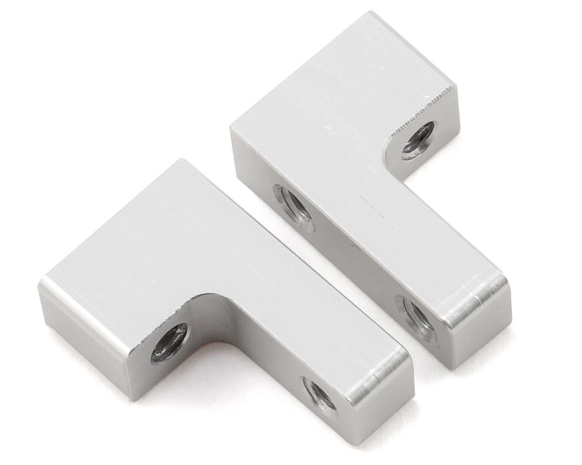 Aluminum Servo Mount Set (Silver) (2) by ST Racing Concepts