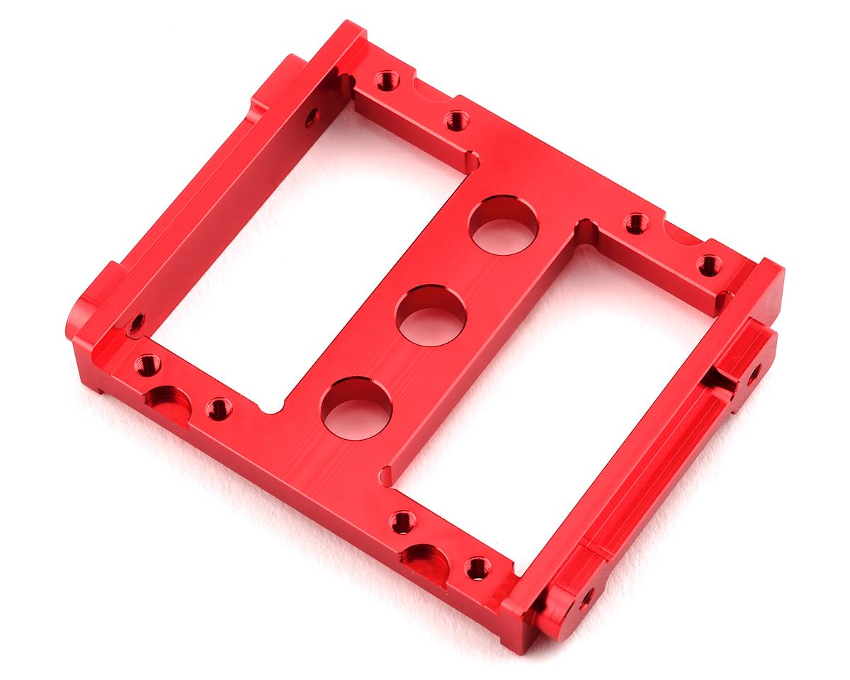 ST Racing Concepts Enduro Aluminum Front Servo Mount Tray (Red)