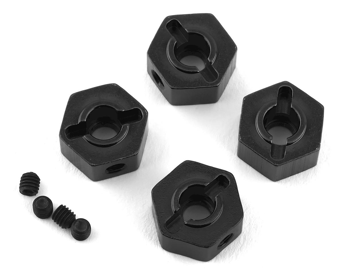 ST Racing Concepts Enduro Brass Hex Adapters (4) (Black)
