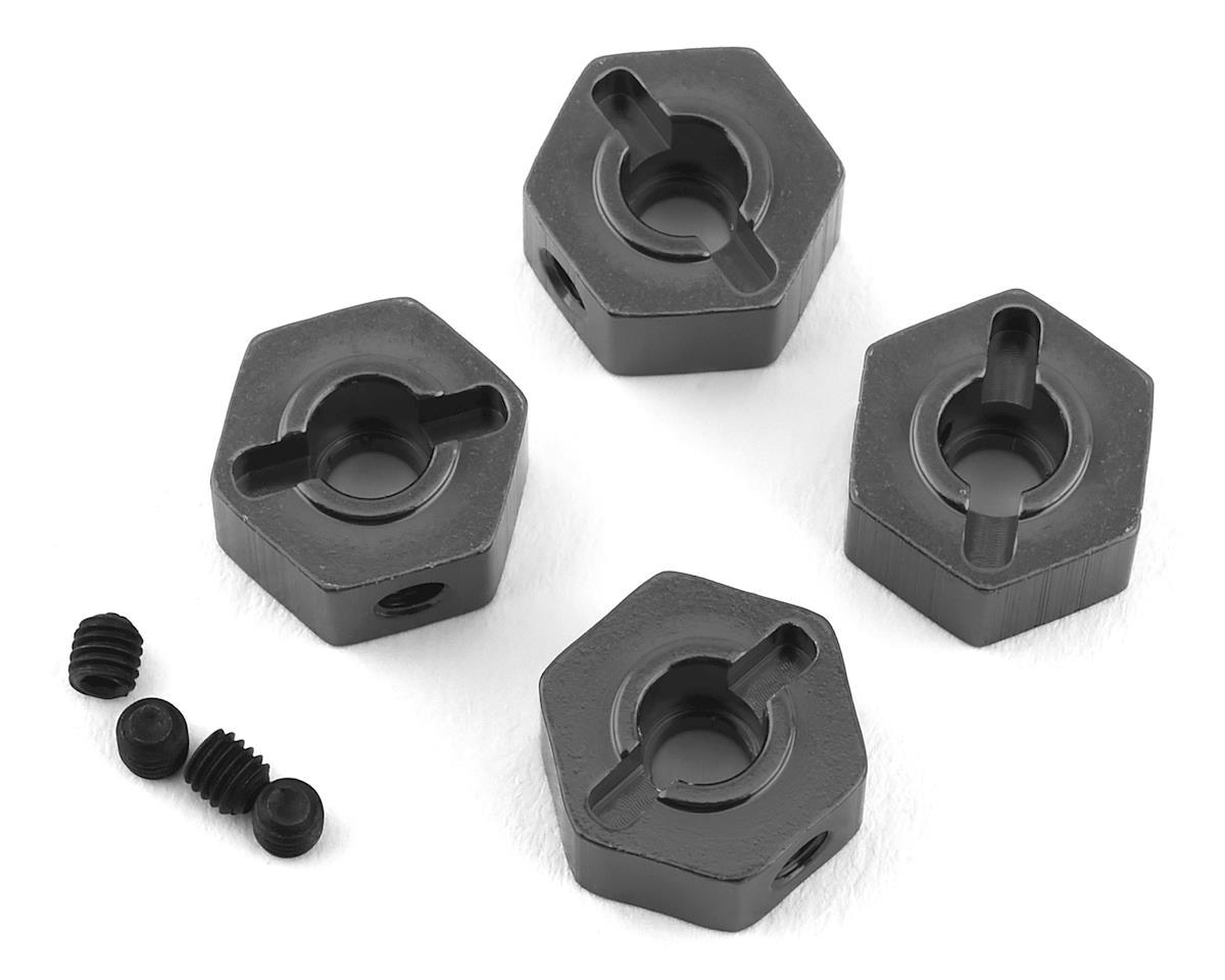 ST Racing Concepts Enduro Aluminum Hex Adapters (4) (Gun Metal)