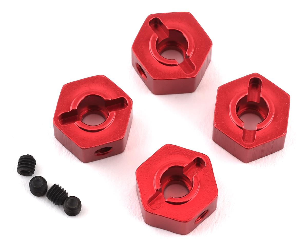 ST Racing Concepts Enduro Aluminum Hex Adapters (4) (Red)