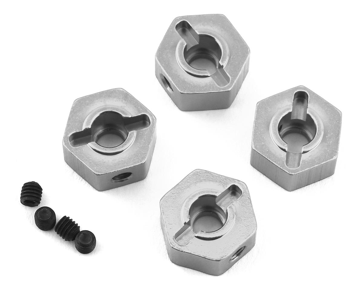 ST Racing Concepts Enduro Aluminum Hex Adapters (4) (Silver)