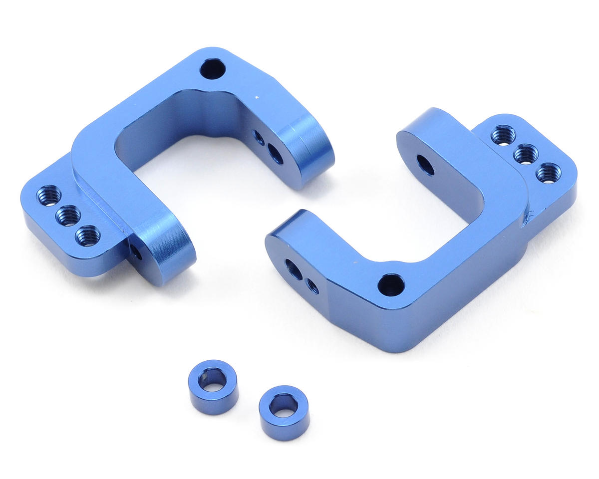 ST Racing Concepts Aluminum Caster Blocks (Blue)