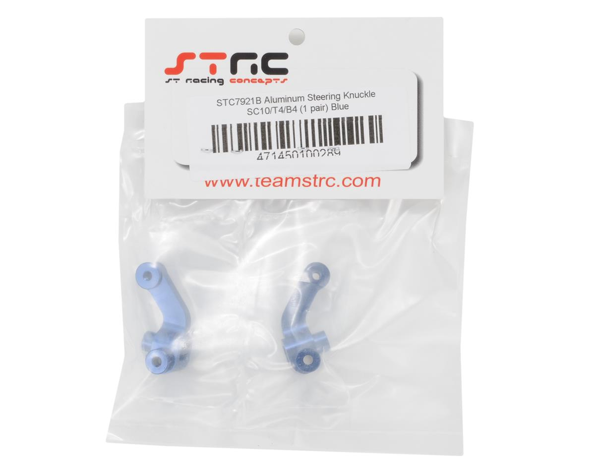 Aluminum Steering Knuckle (Blue) by ST Racing Concepts