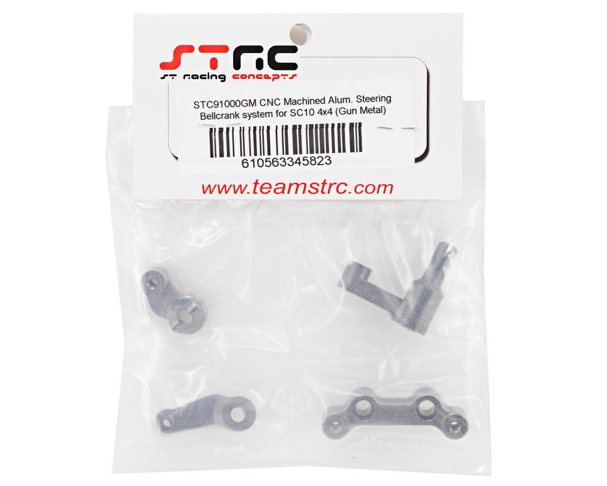 ST Racing Concepts Aluminum Steering Bellcrank System (Gun Metal) (4)