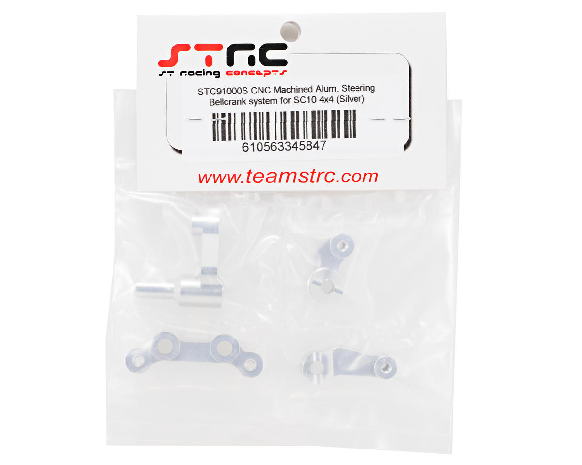 ST Racing Concepts Aluminum Steering Bellcrank System (Silver) (4)