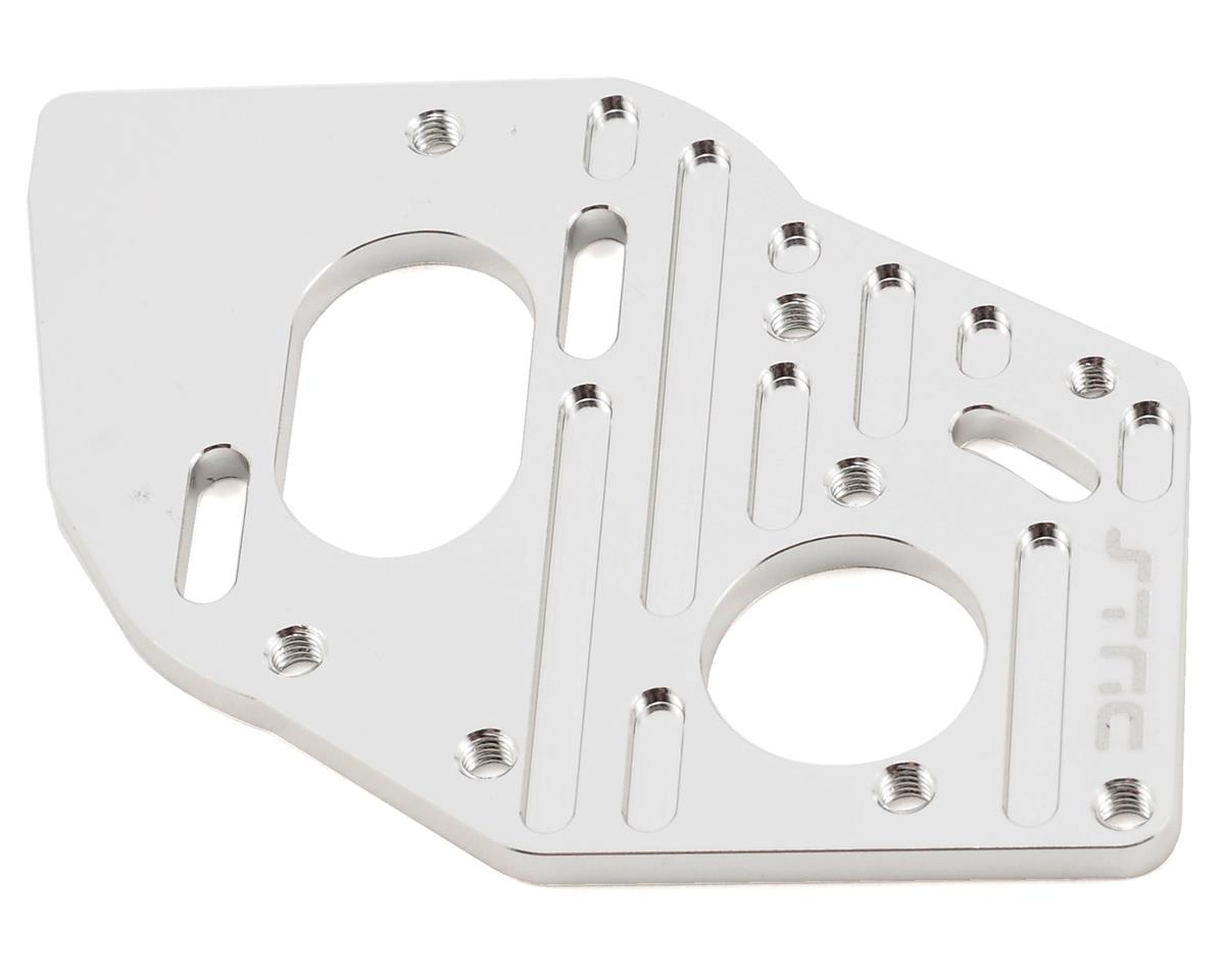 Aluminum Heatsink Motor Plate (Silver) by ST Racing Concepts