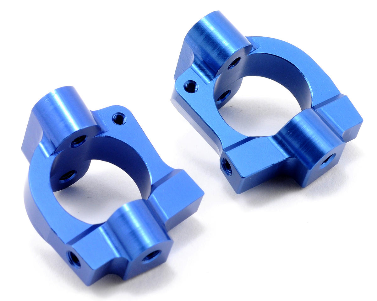 ST Racing Concepts Aluminum HD Caster Block Set (Blue) (2)