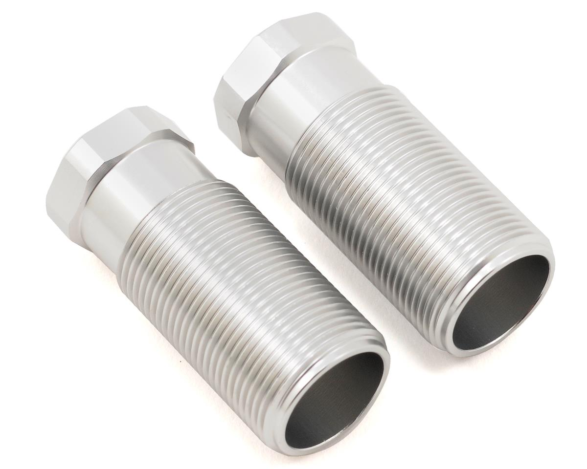 ST Racing Concepts Aluminum Front Shock Body Set (Silver) (2)