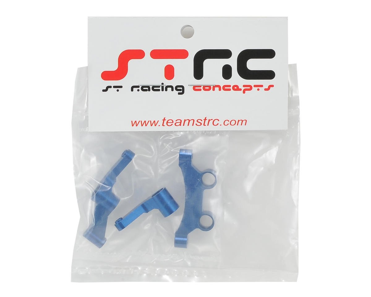 ST Racing Concepts B5/B5M Aluminum HD Steering Bellcrank Set (Blue)