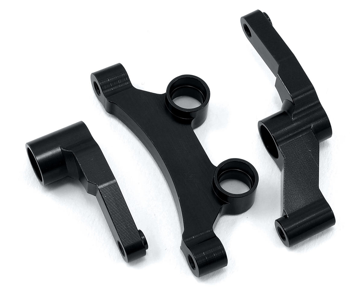 ST Racing Concepts B5/B5M Aluminum HD Steering Bellcrank Set (Black)