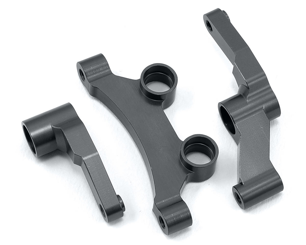 ST Racing Concepts B5/B5M Aluminum HD Steering Bellcrank Set (Gun Metal)