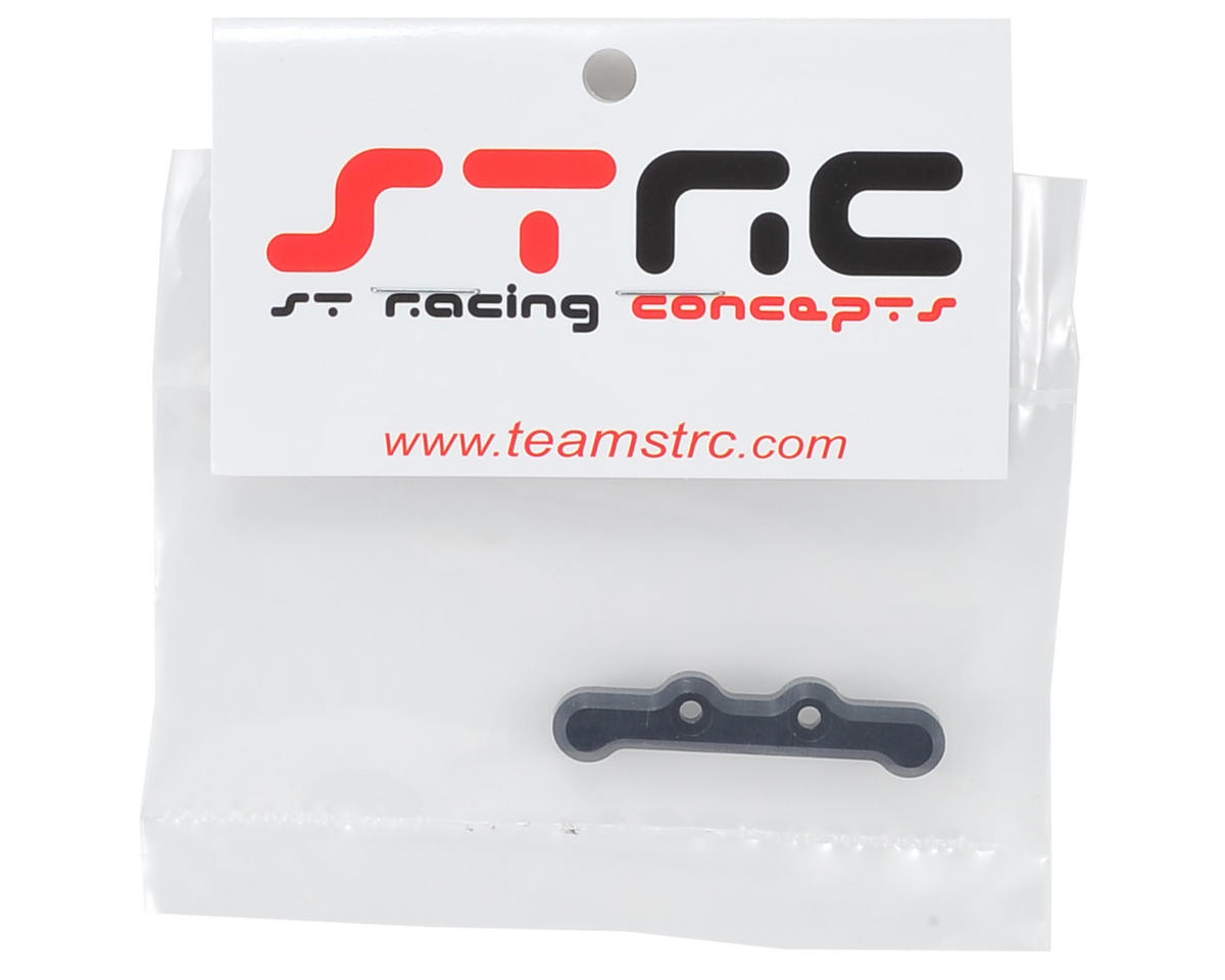 ST Racing Concepts B5/B5M Aluminum HD Front Hinge Pin Brace (Black)