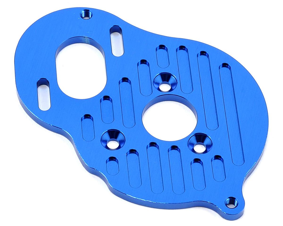ST Racing Concepts B5/B5M Aluminum Motor Mount Plate (Blue) (4-Gear & B5)