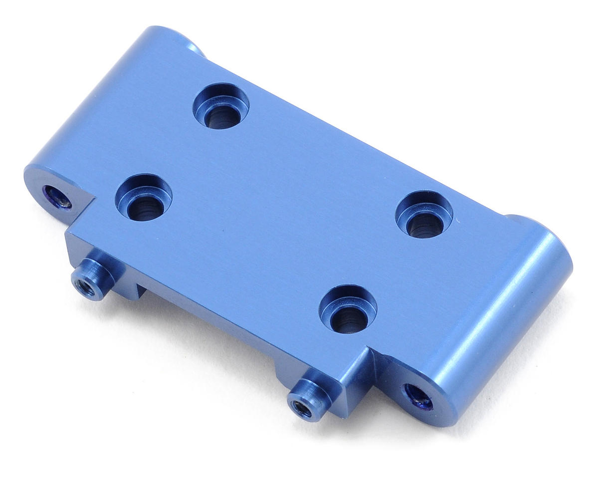 Aluminum Front Bulkhead (Blue) by ST Racing Concepts