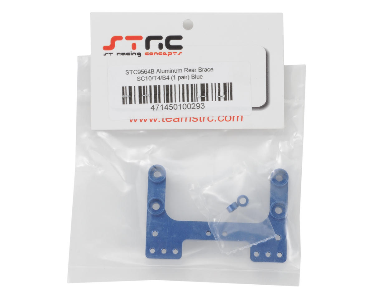 ST Racing Concepts Aluminum Rear Brace (Blue)