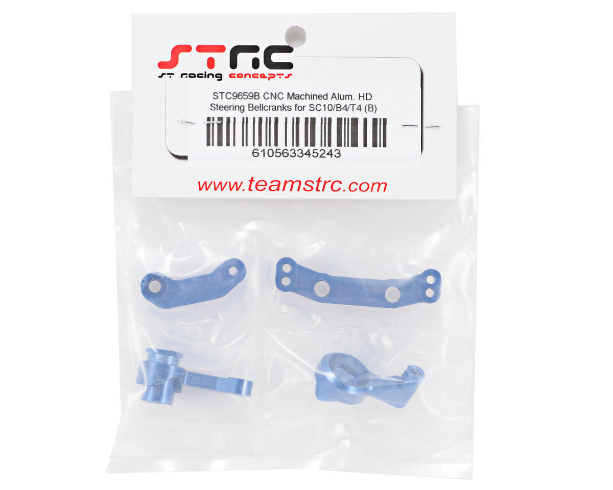 ST Racing Concepts Aluminum HD Steering Bellcrank Set (Blue)