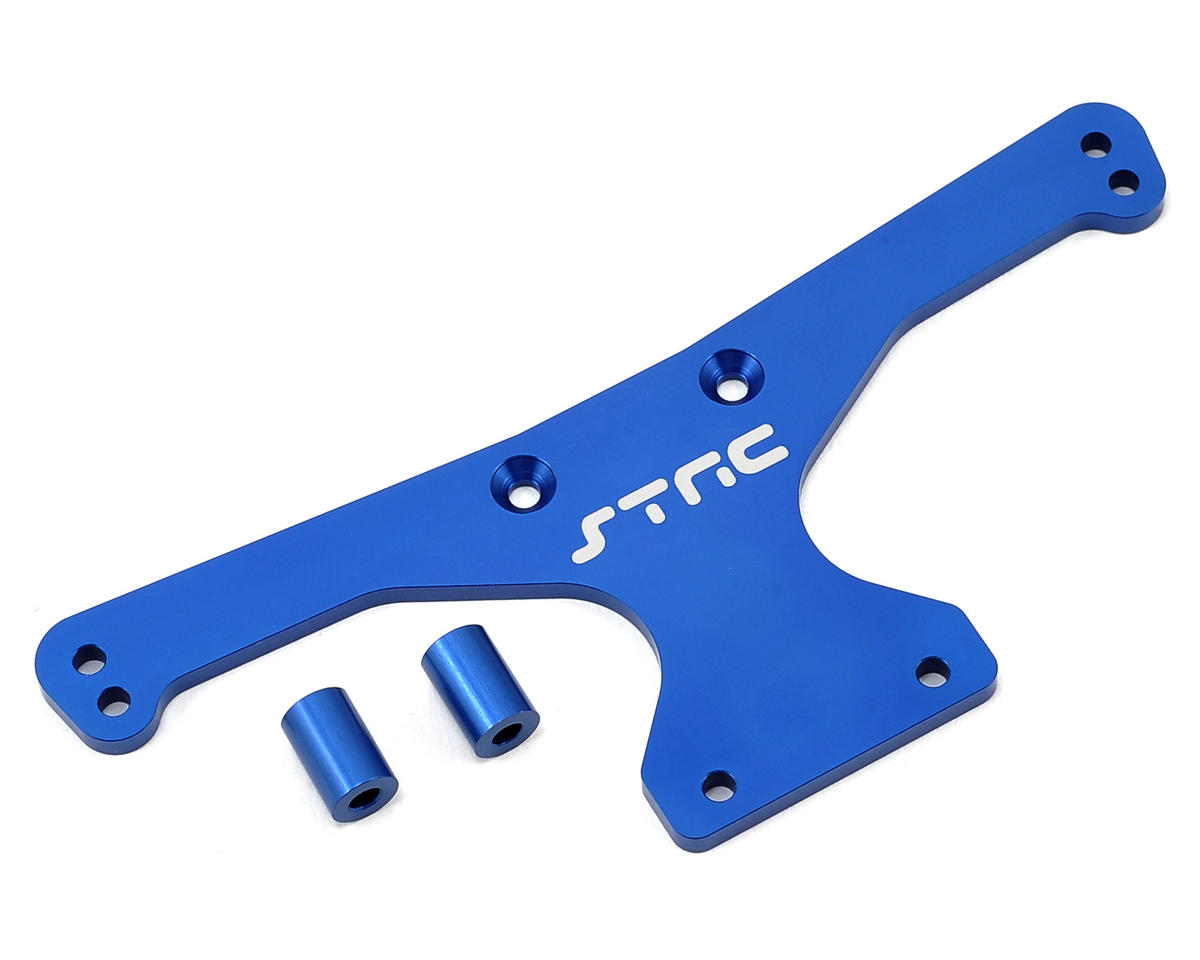 HD Rear Body Mount Plate (Blue) by ST Racing Concepts
