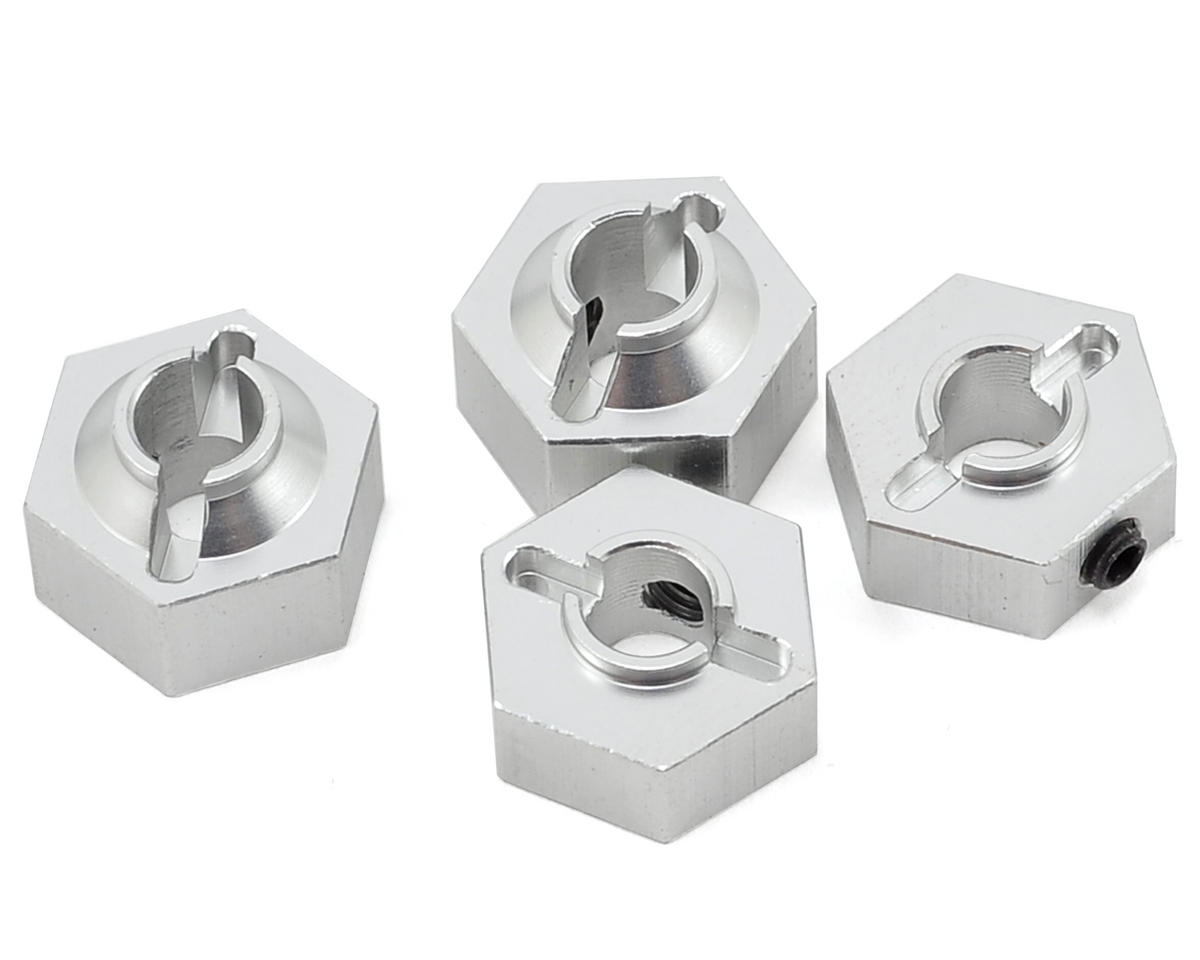 ST Racing Concepts Aluminum Hex Adapter (Silver) (4)