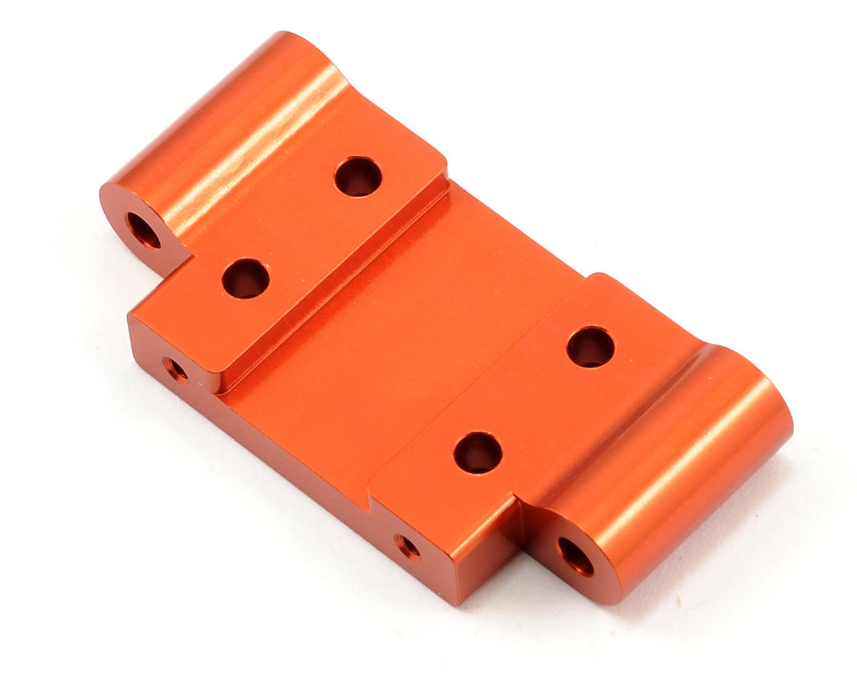 ST Racing Concepts Aluminum HD Front Bulkhead (Orange)
