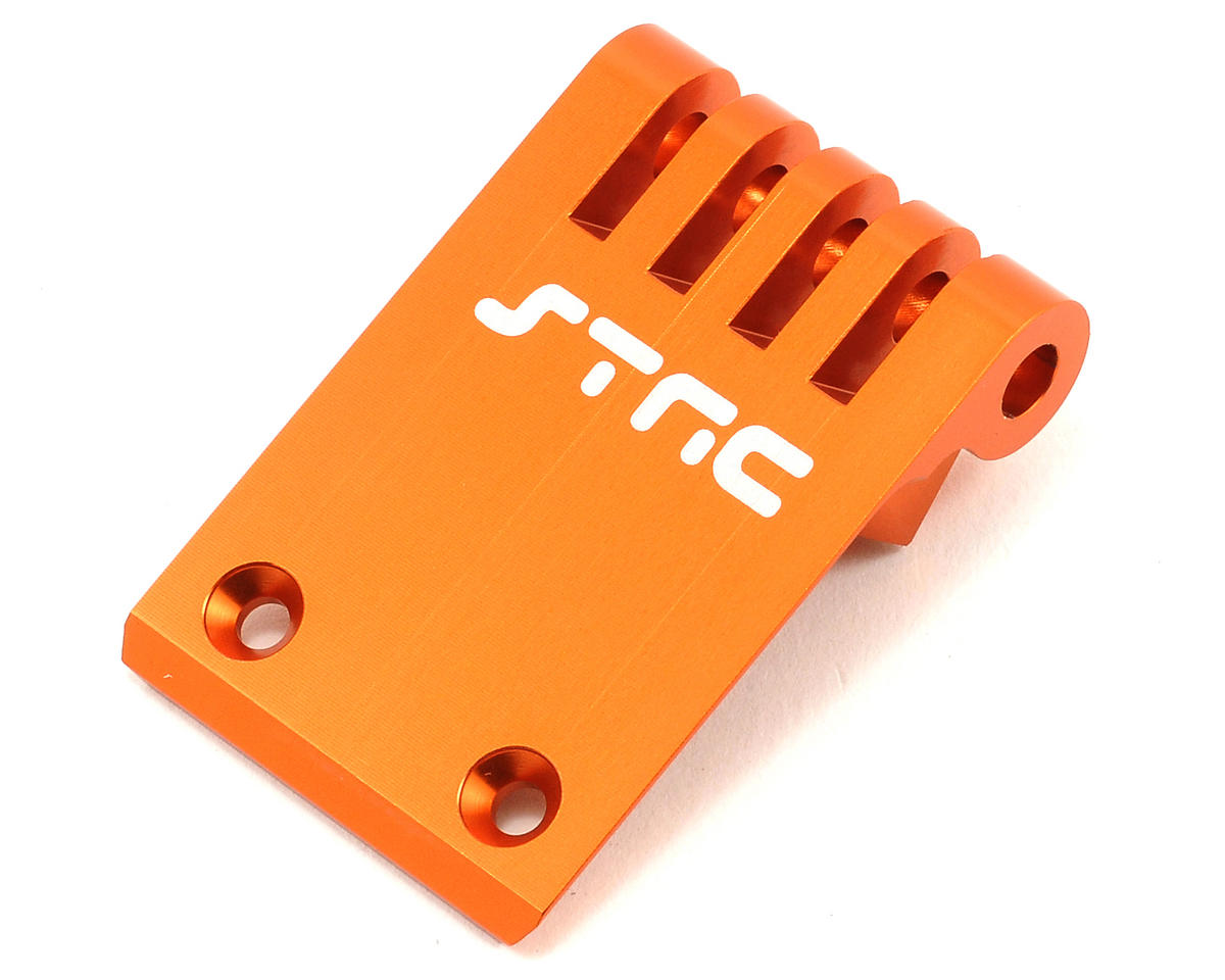 ST Racing Concepts Aluminum HD Front Bumper/Skid Plate (Orange)