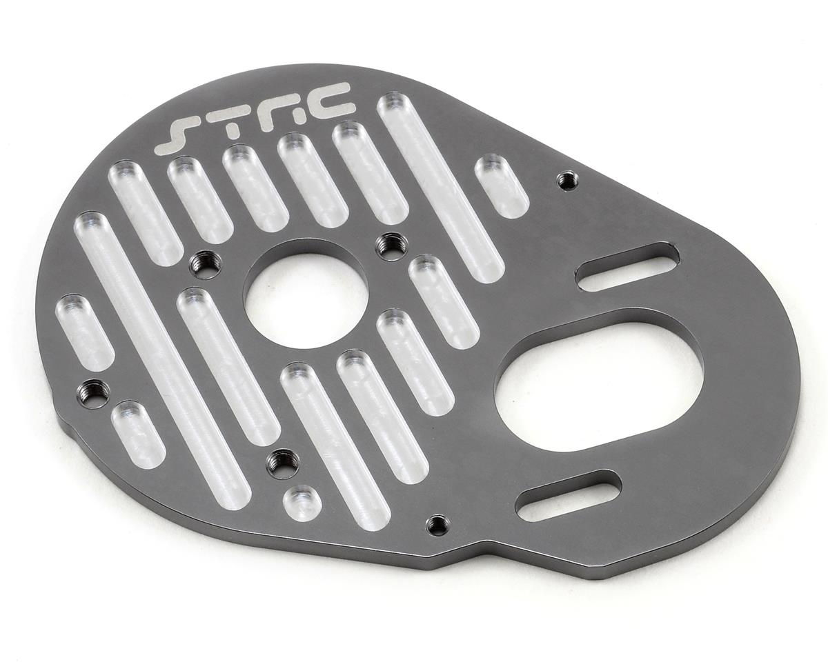 Aluminum Finned Motor Mount (Gun Metal) by ST Racing Concepts