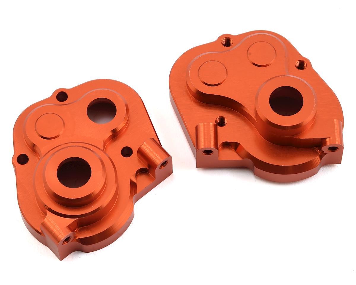 ST Racing Concepts HPI Venture Aluminum HD Center Transmission Case (Orange)
