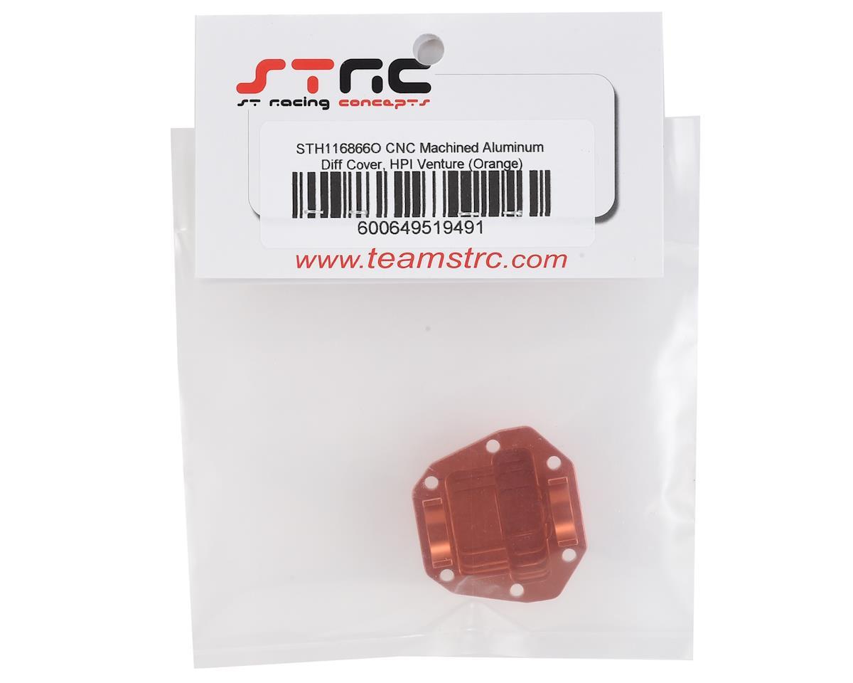 ST Racing Concepts HPI Venture Aluminum Diff Cover (Orange)