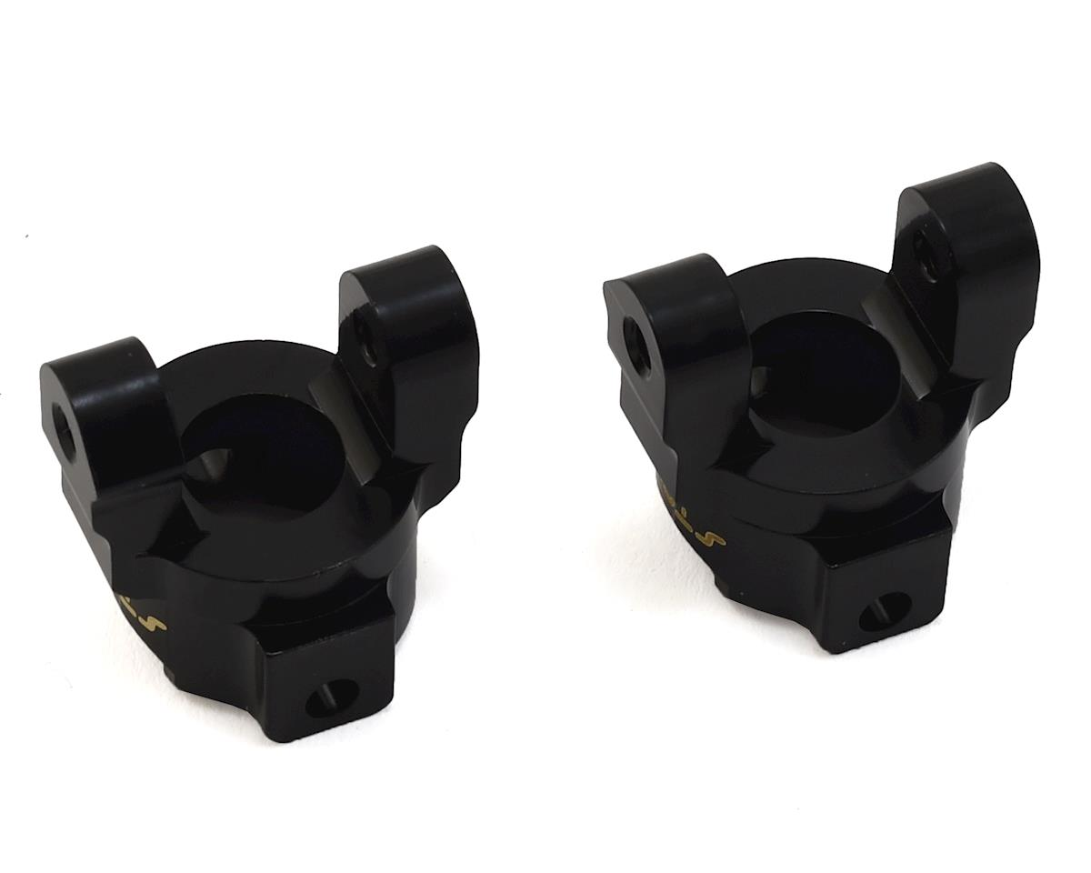 ST Racing Concepts HPI Venture Brass Front C-Hub Carriers (Black) (2)
