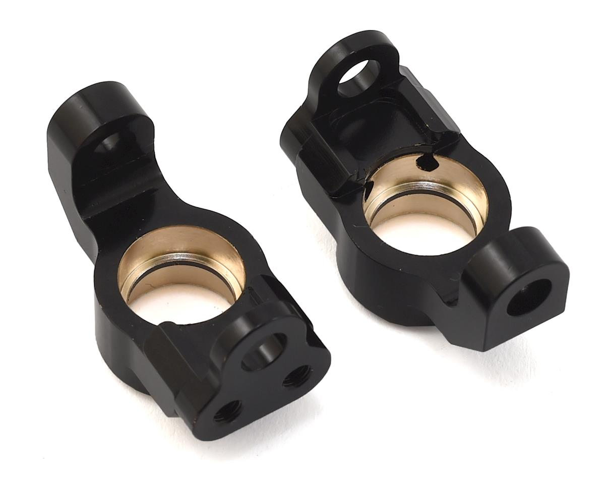 HPI Venture Brass Front Steering Knuckles (Black) (2)