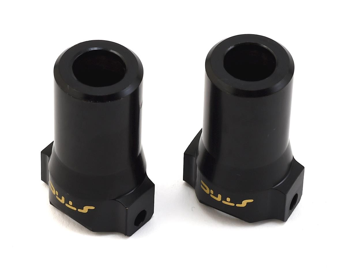 ST Racing Concepts HPI Venture Brass Rear Lock-Outs (Black) (2)