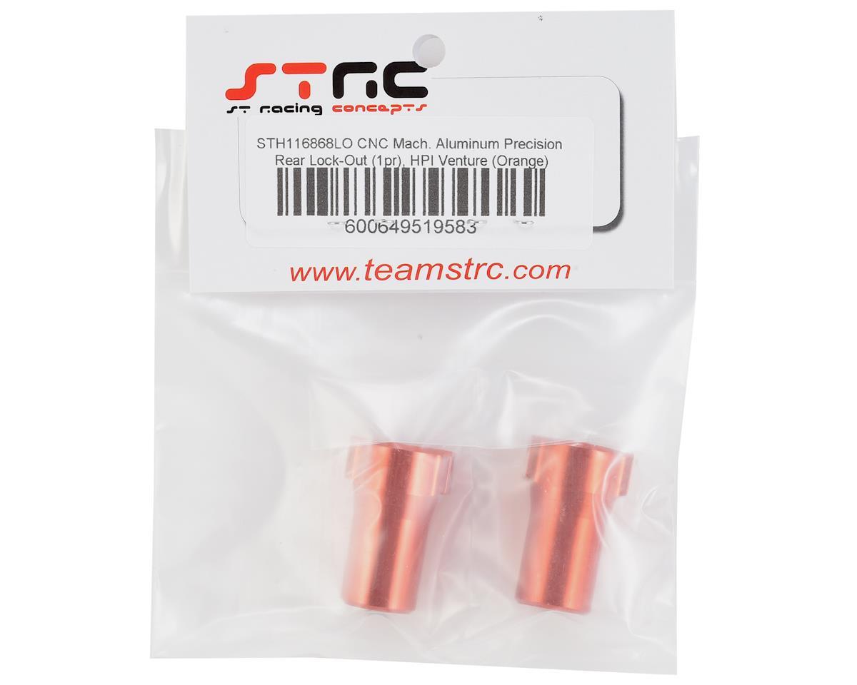ST Racing Concepts HPI Venture Aluminum Precision Rear Lockout (Orange) (2)