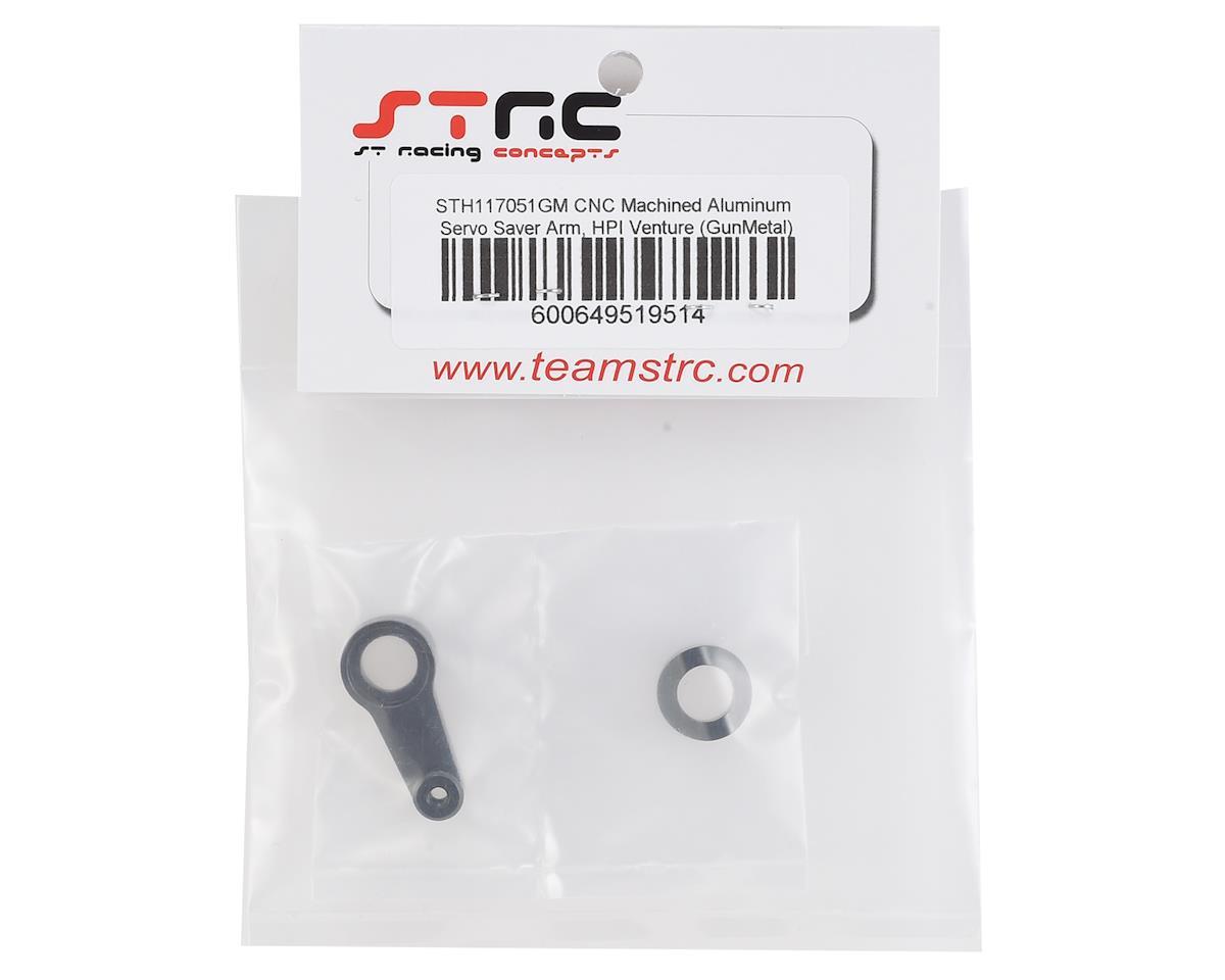 ST Racing Concepts HPI Venture Aluminum Servo Saver Arm (Gun Metal)