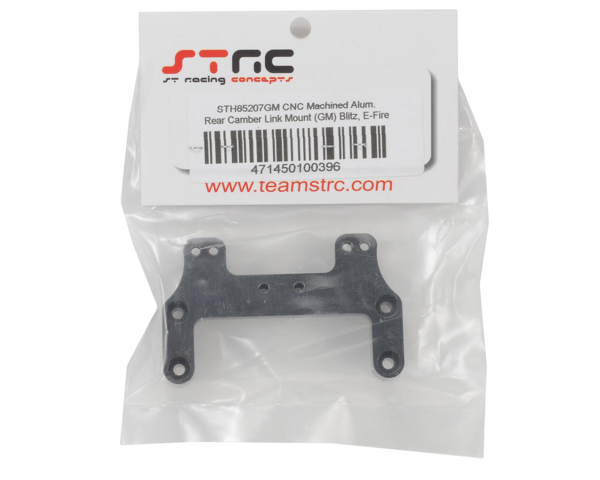 ST Racing Concepts Aluminum Rear Camber Link Mount (Gun Metal)