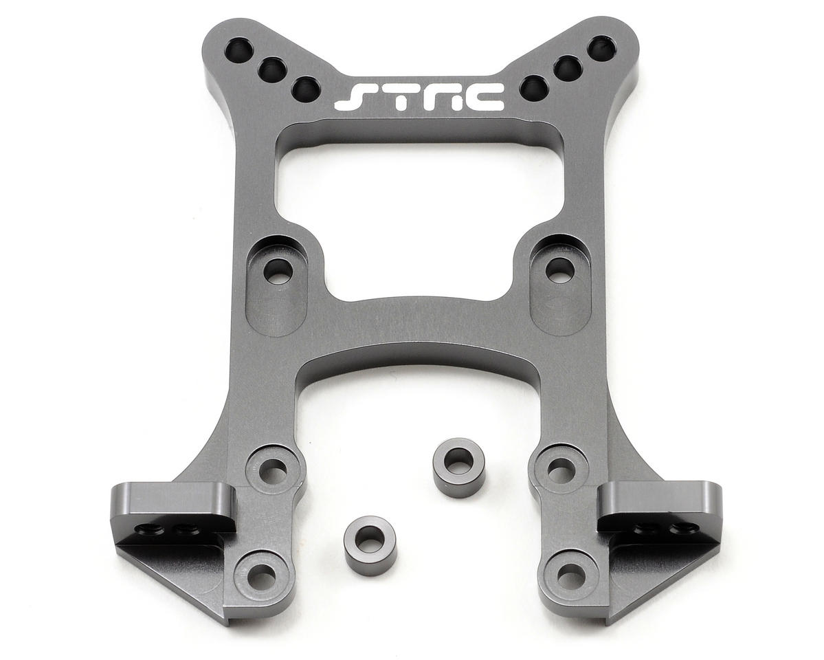 Aluminum HD Front Shock Tower (Gun Metal) by ST Racing Concepts
