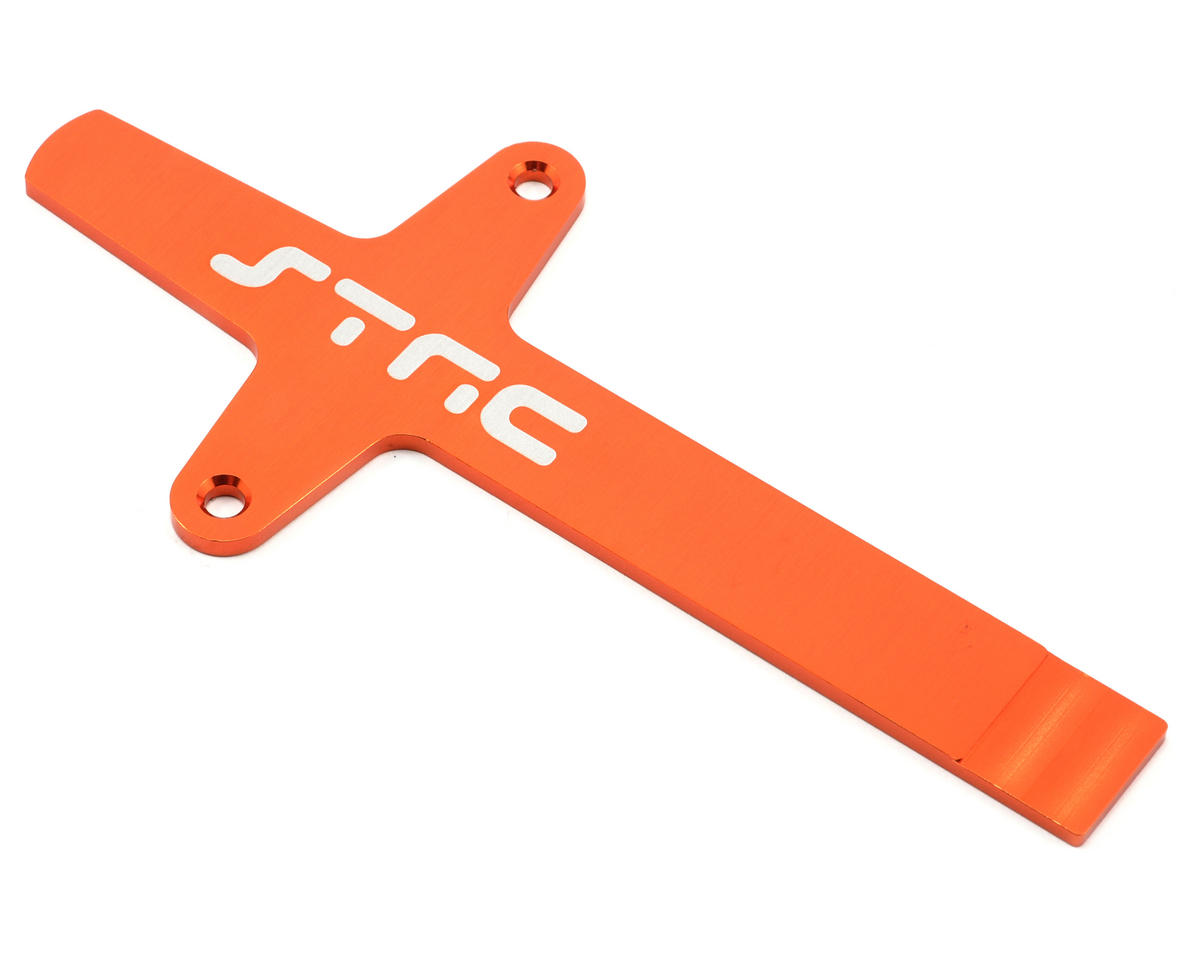 ST Racing Concepts Aluminum Battery Strap (Orange)