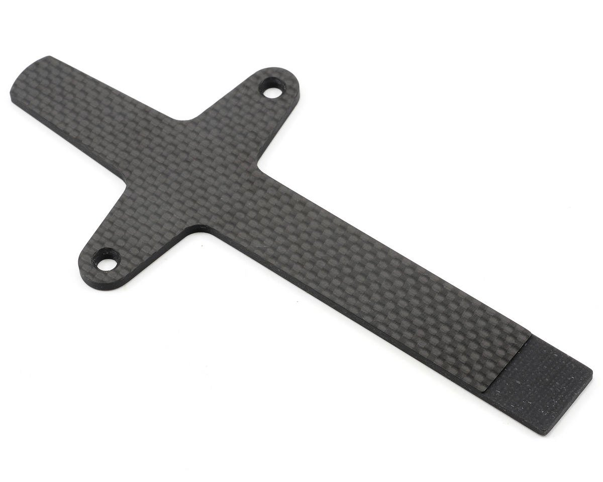 ST Racing Concepts 3mm Graphite Battery Strap (Silver)