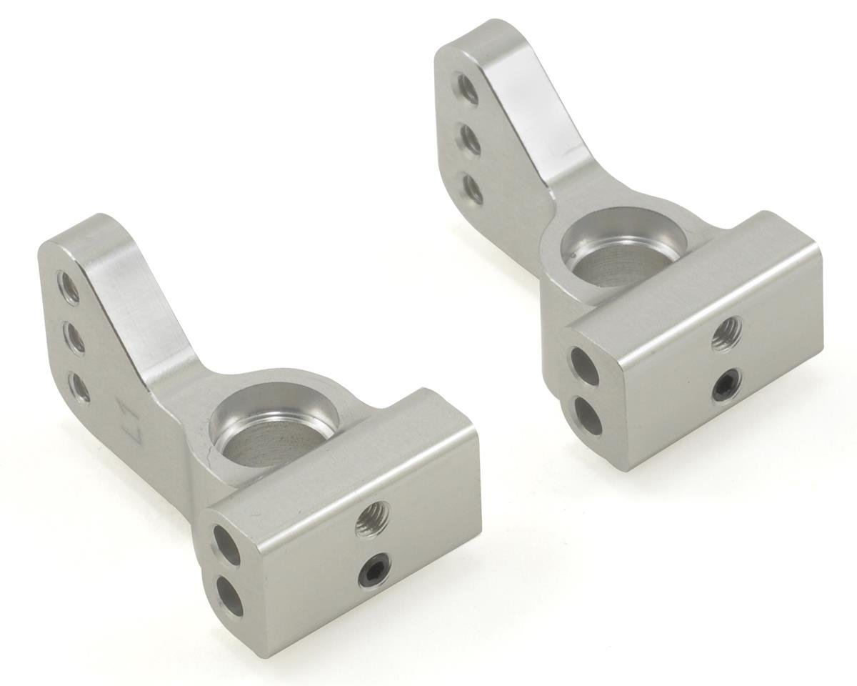 ST Racing Concepts Aluminum VLA 1° Rear Hub Carrier Set (Silver) (2)