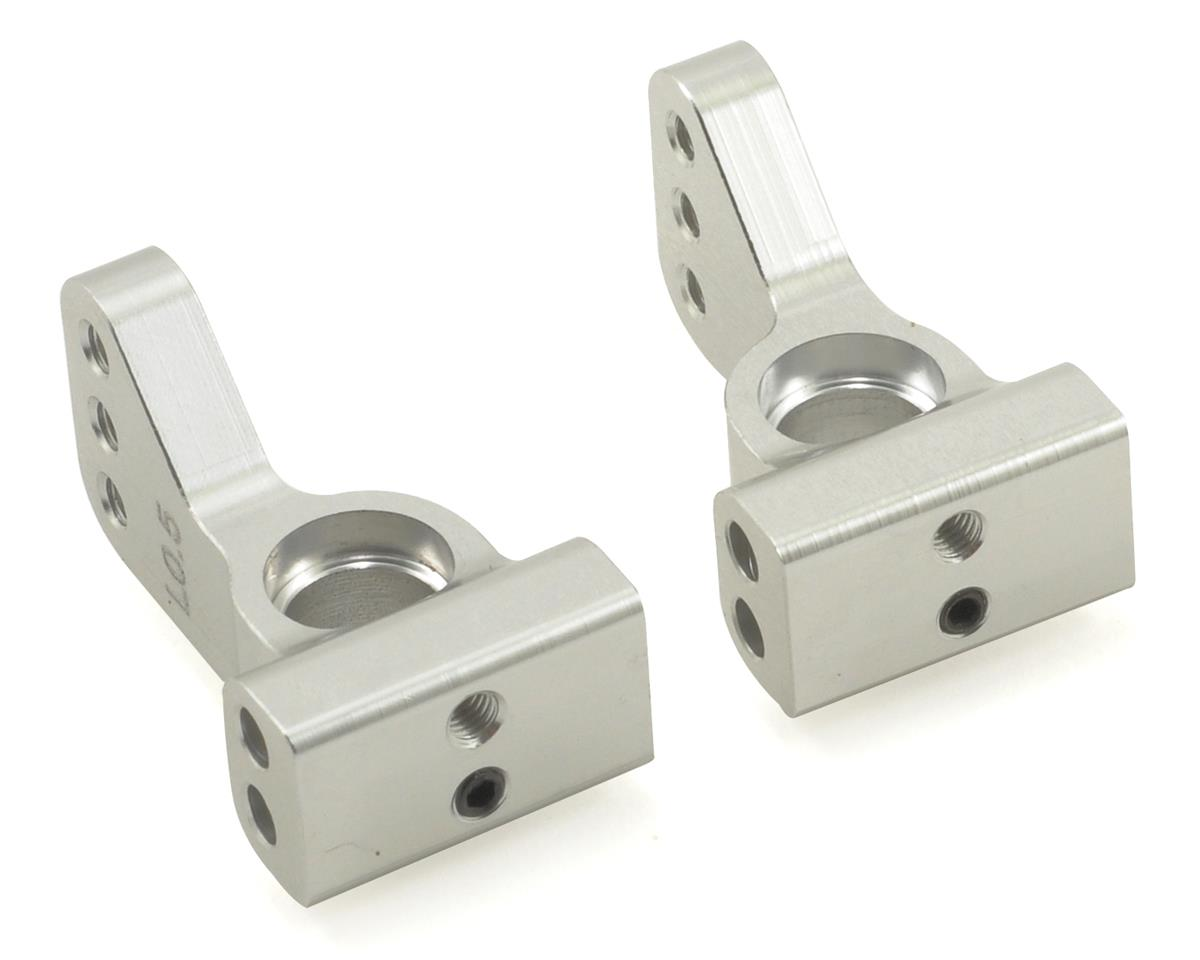ST Racing Concepts Aluminum VLA 0.5° Rear Hub Carrier Set (Silver) (2)